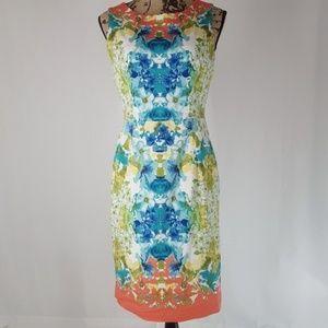 Nine West | Hawaii Floral Sheath Dress (Size 6)